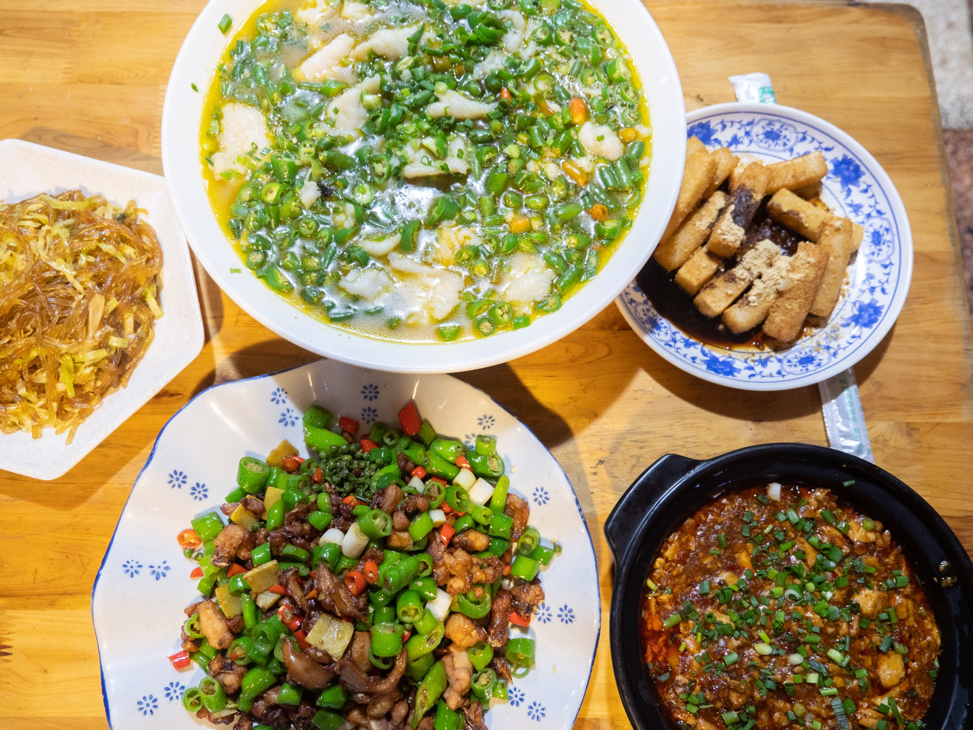One of the original fly restaurants of chengdu