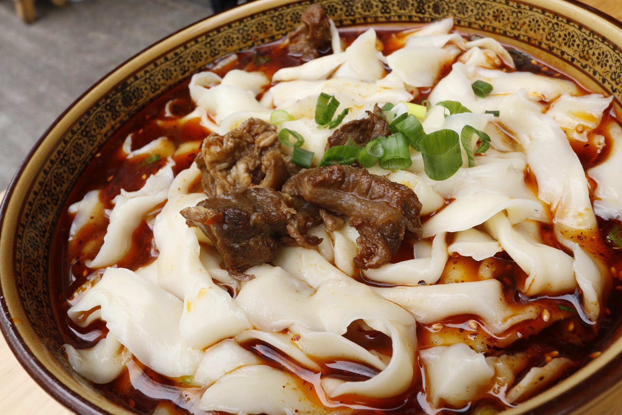 I moved to China because of noodles like these! Delicious and spicy hand pulled red braised beef noodles!