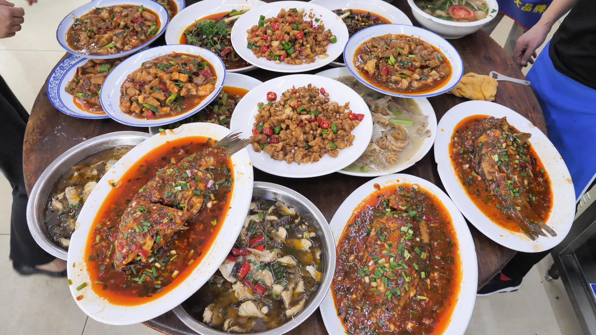 Food like this is enough to move to Sichuan for!