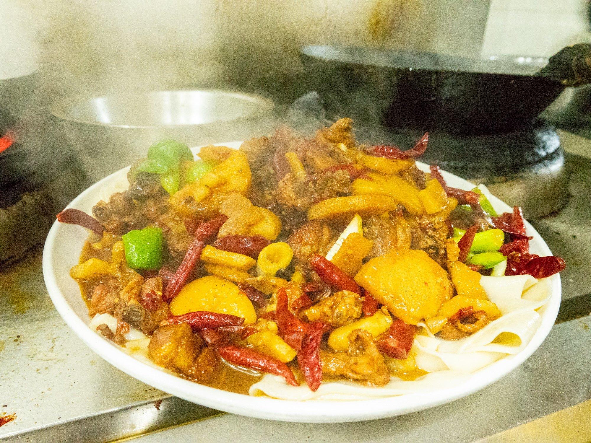We found the best dapanji in Xian