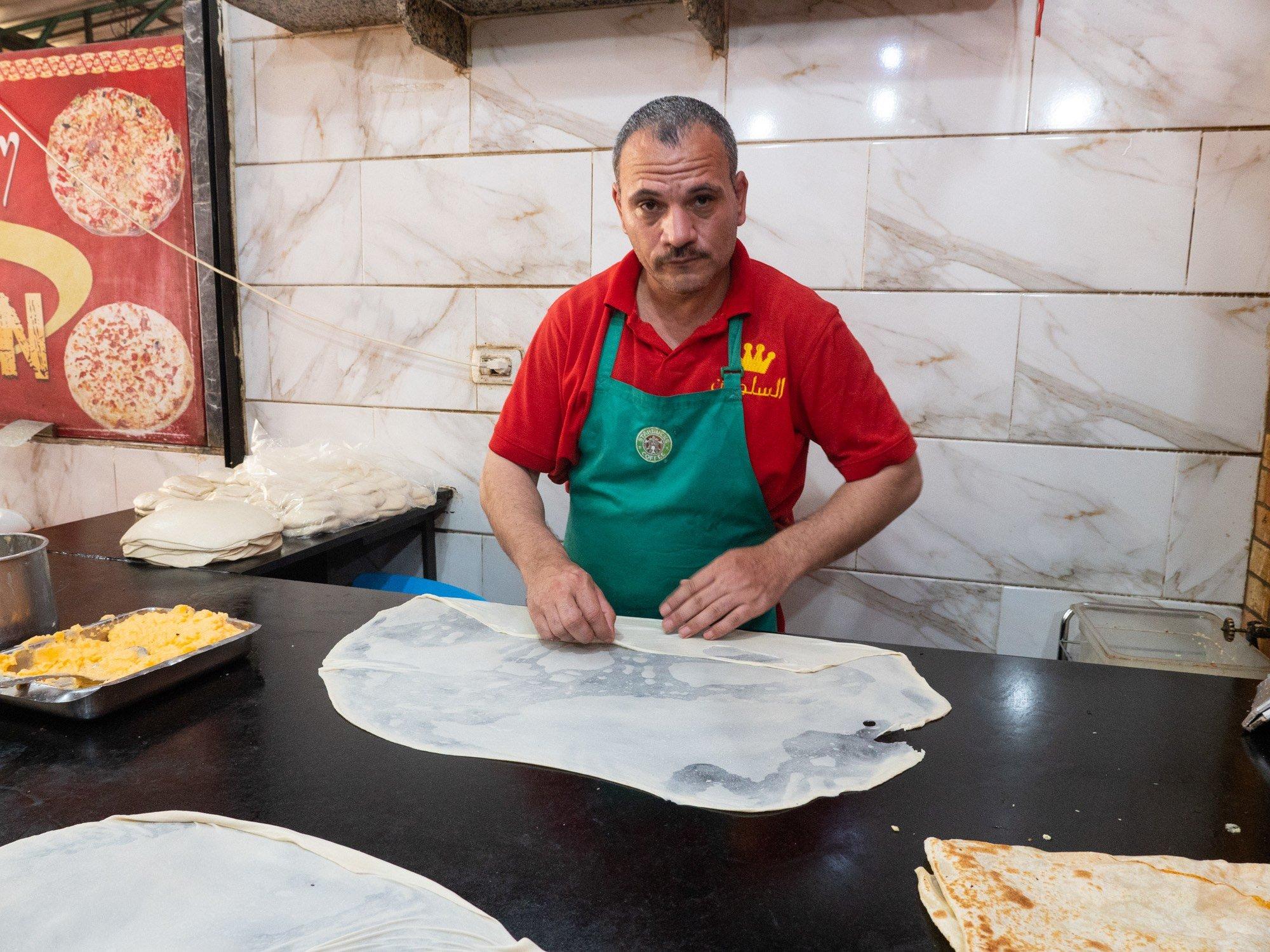 Egyptian pies at el sultan