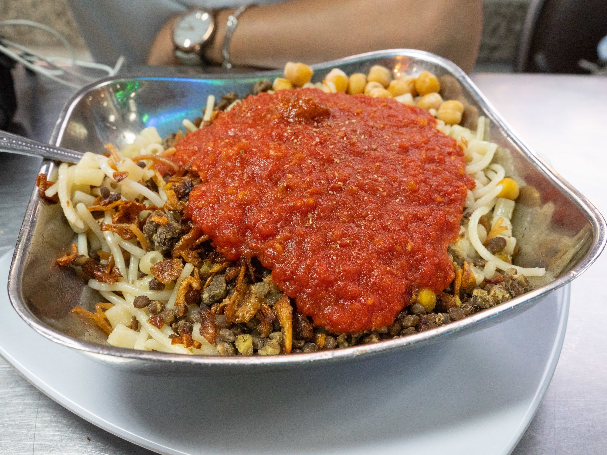 kushary egyptian food in cairo