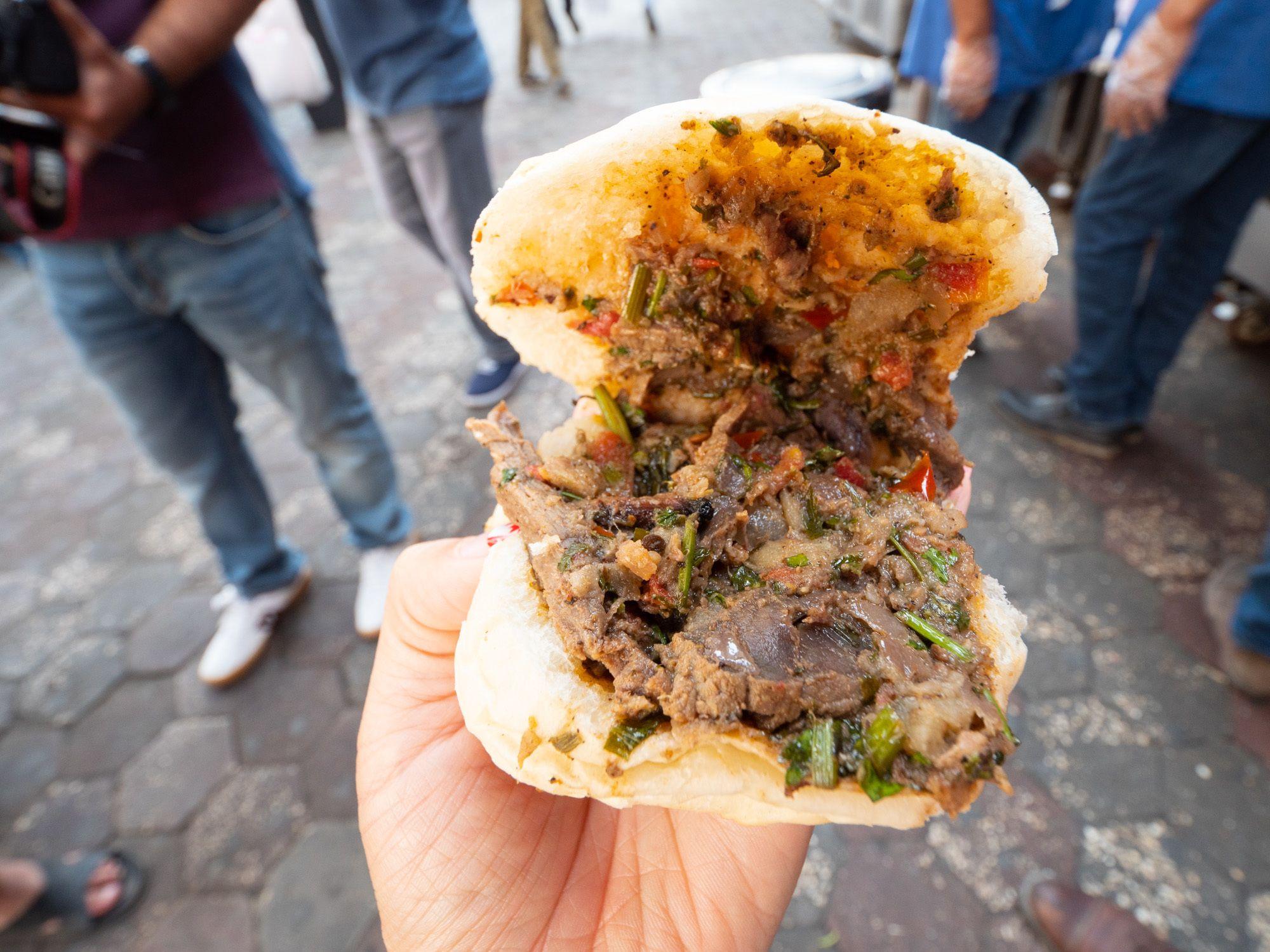 Shawarma bun egypt