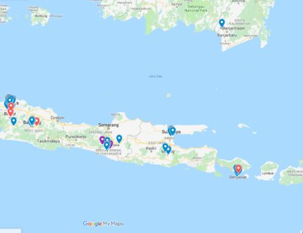 The Ultimate Indonesia Street Food Map