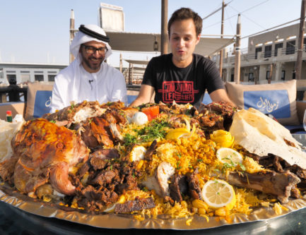 Eating Camel Meat in Dubai – The Whole Camel Platter!