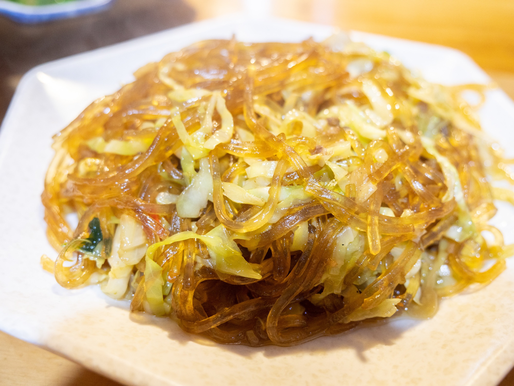 rice noodles with cabbage fensi lianbai