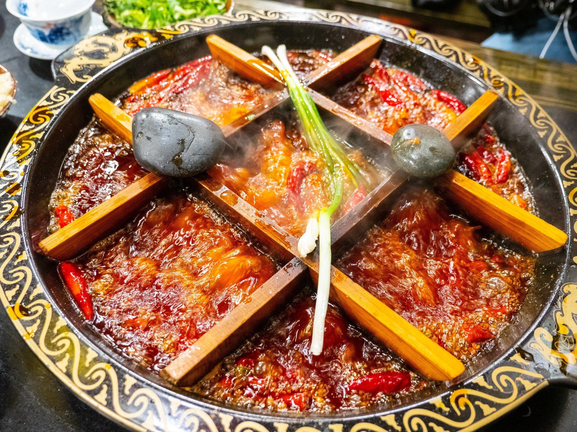 nine layer hot pot in chengdu