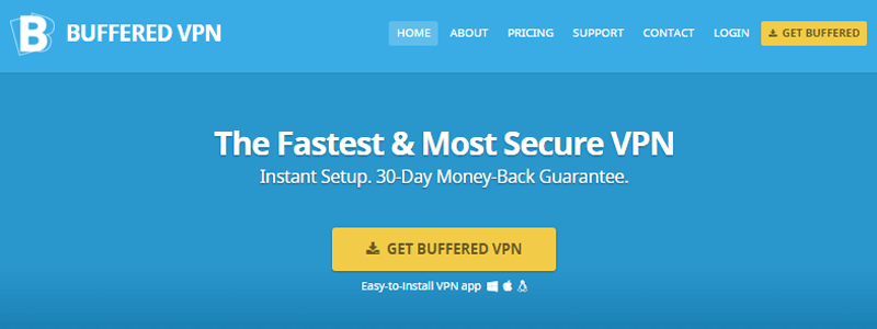 BufferedVPN is another one of the VPNs that you can use in China