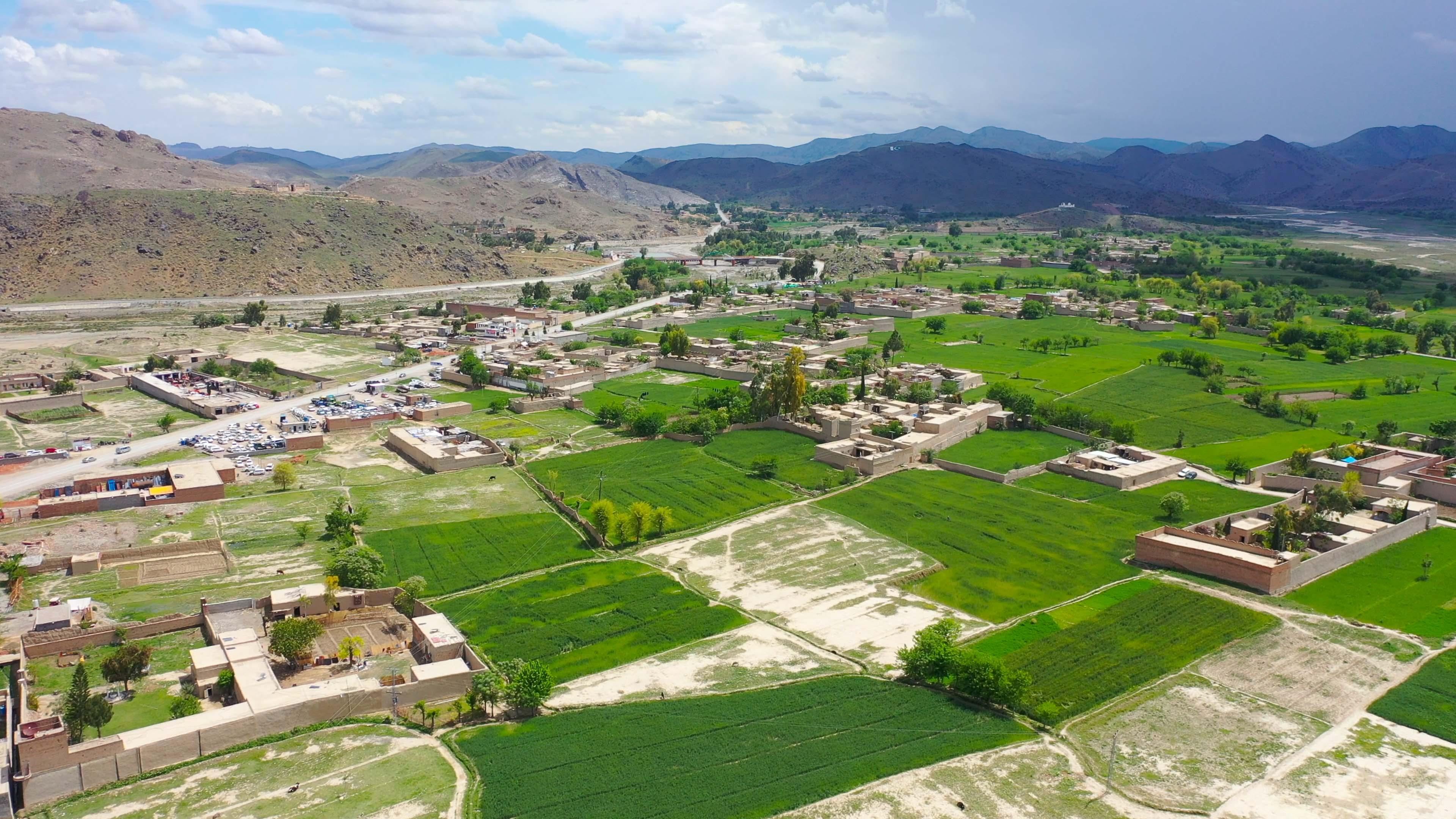 Miranshah border region near afghanistan, Waziristan province