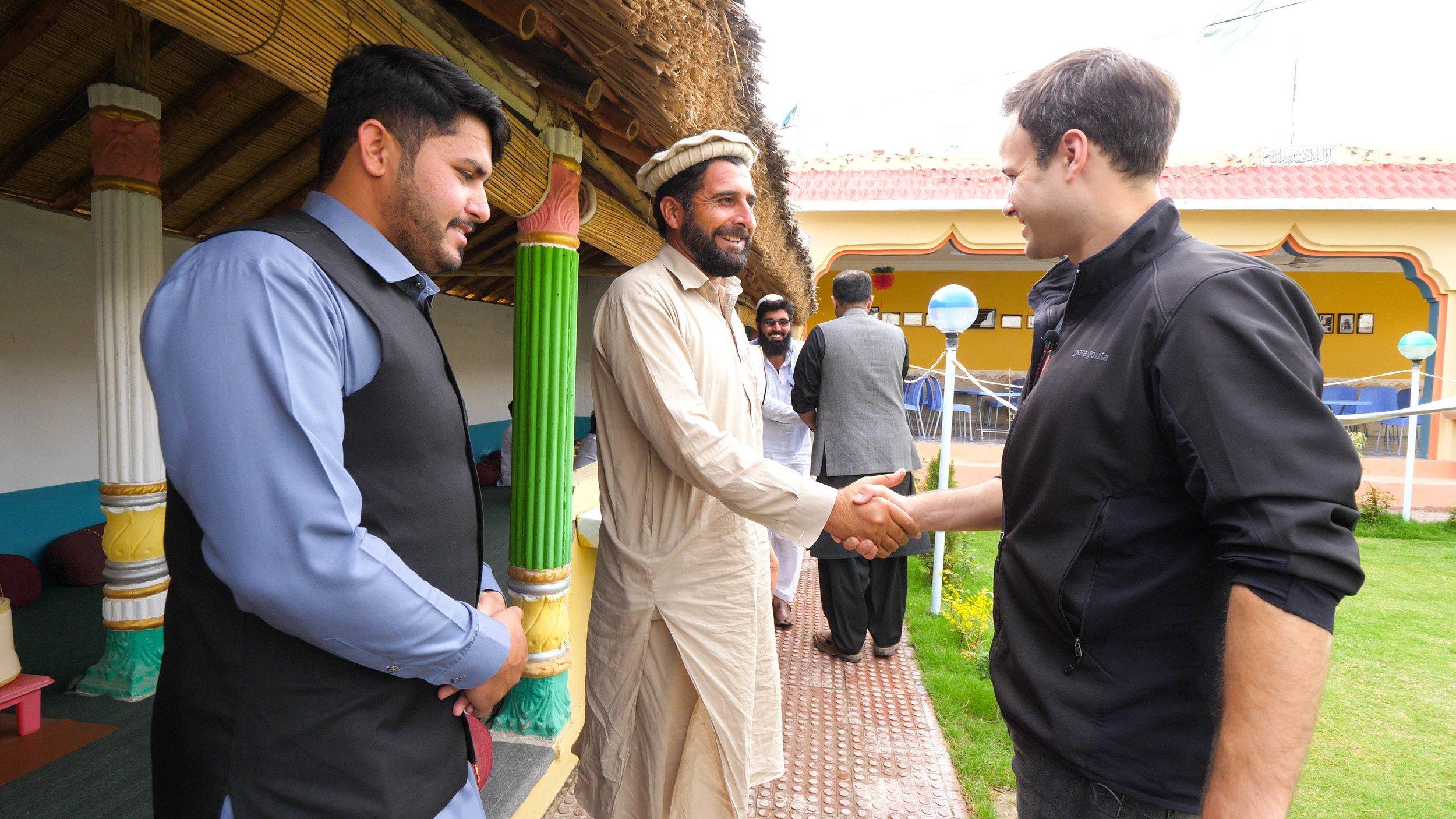 Waziristan restaurant scene on the drive up