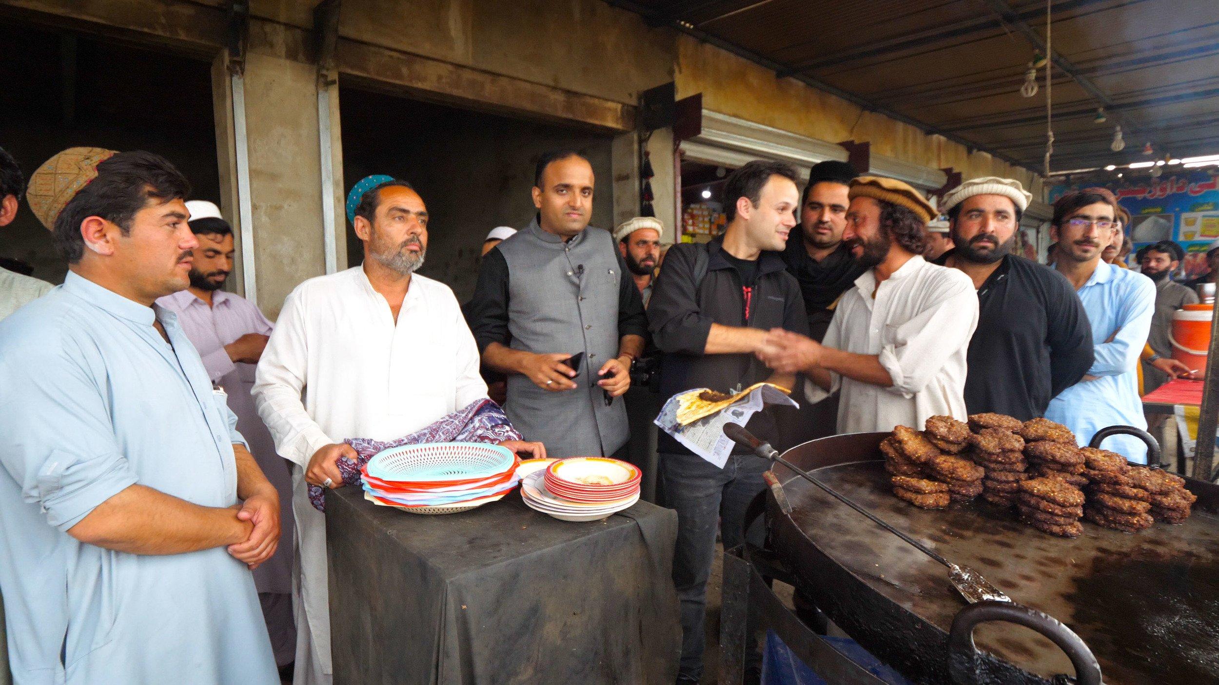 Chapli kababs in Miranshah