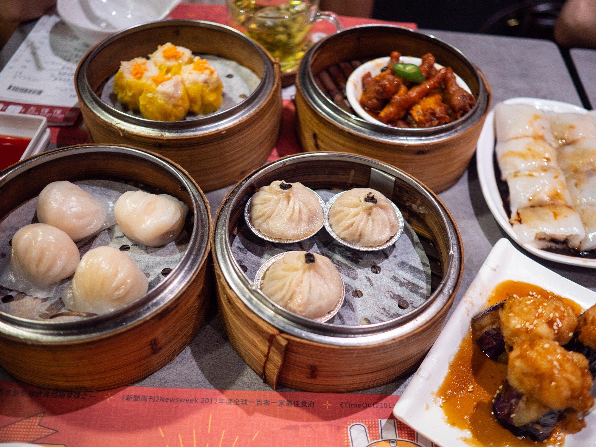 Dim dim sum restaurant in Mongkok Hong Kong