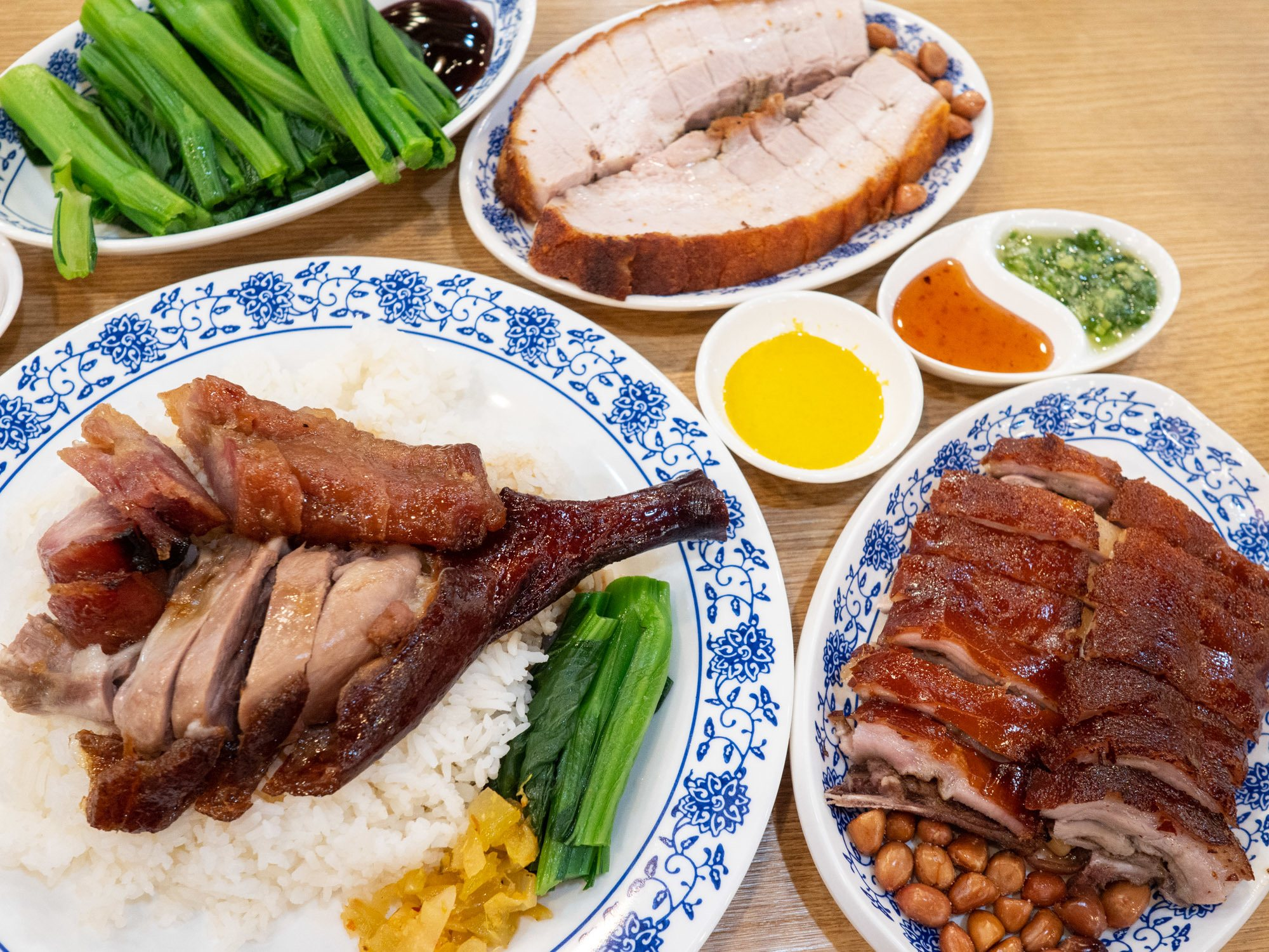 Ki's roast goose with the suckling pig in hong kong