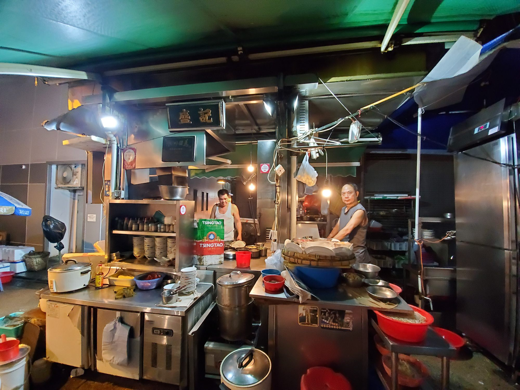 sing kee is one of the famous restaurants in central hong kong