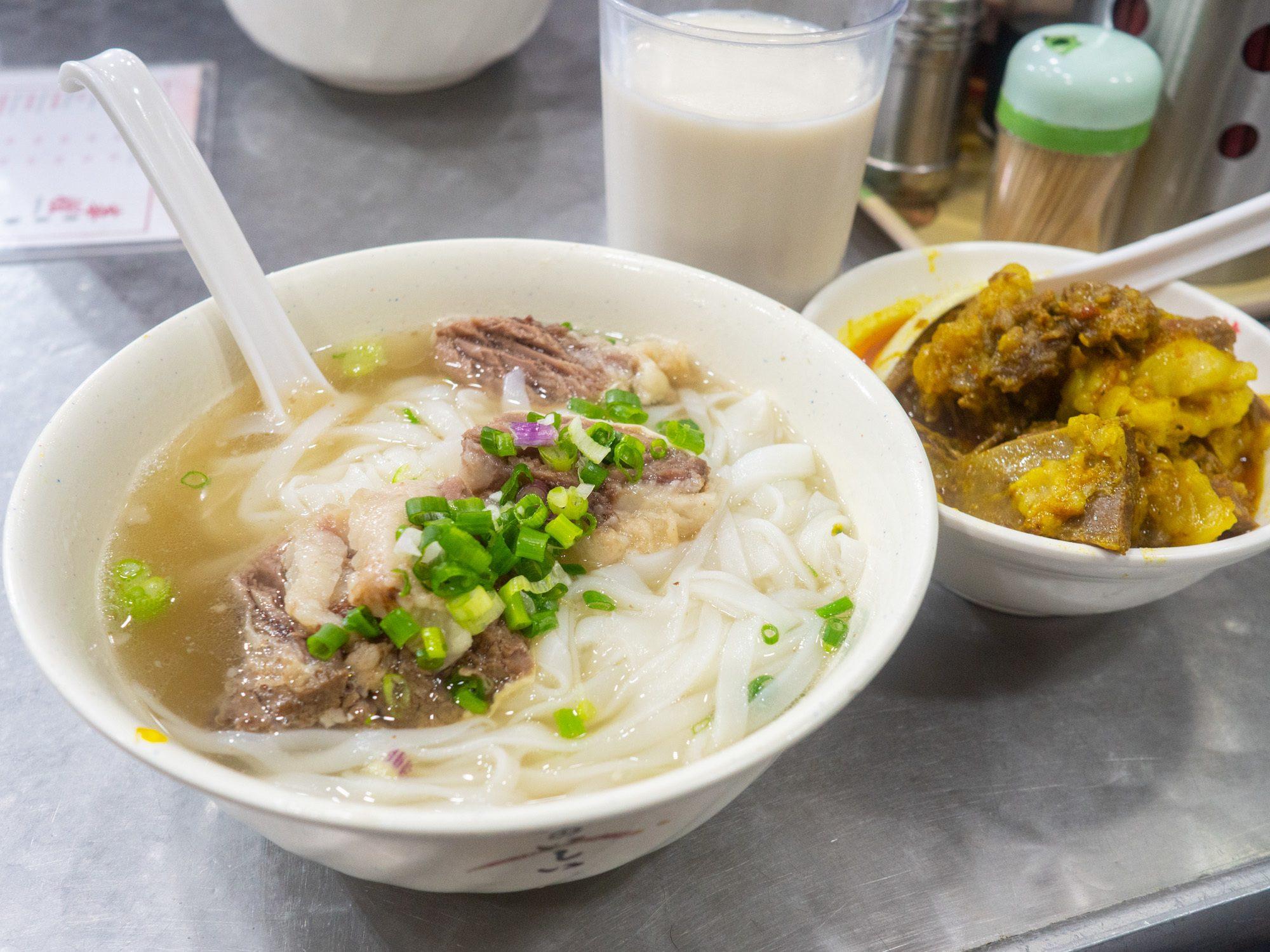 Sister wah has one of the best beef brisket noodles in Hong Kong