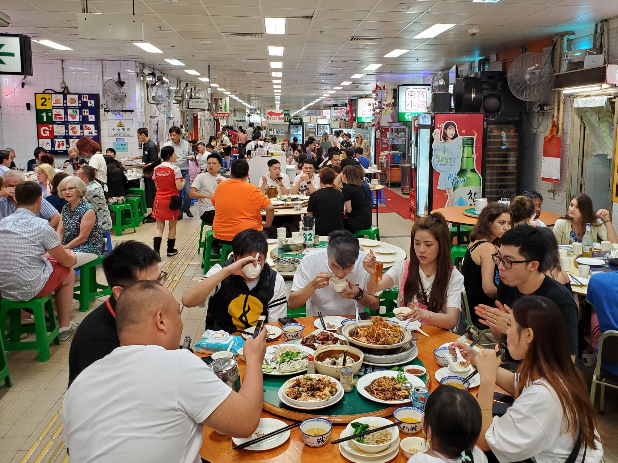 dong po AKA tung po kitchen shown here with tons of locals enjoying the classic cantonese food