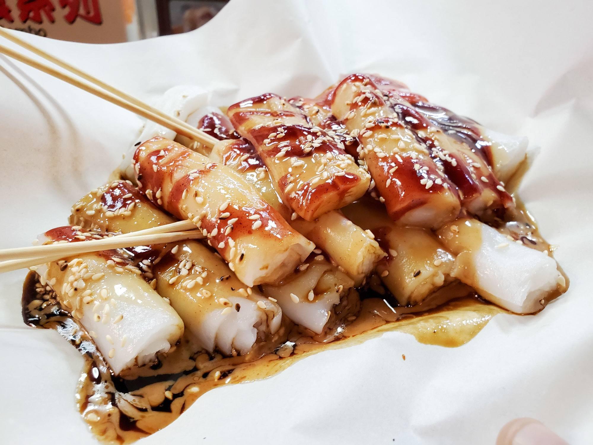 delicious cheong fun at lama ? meishi in hong kong