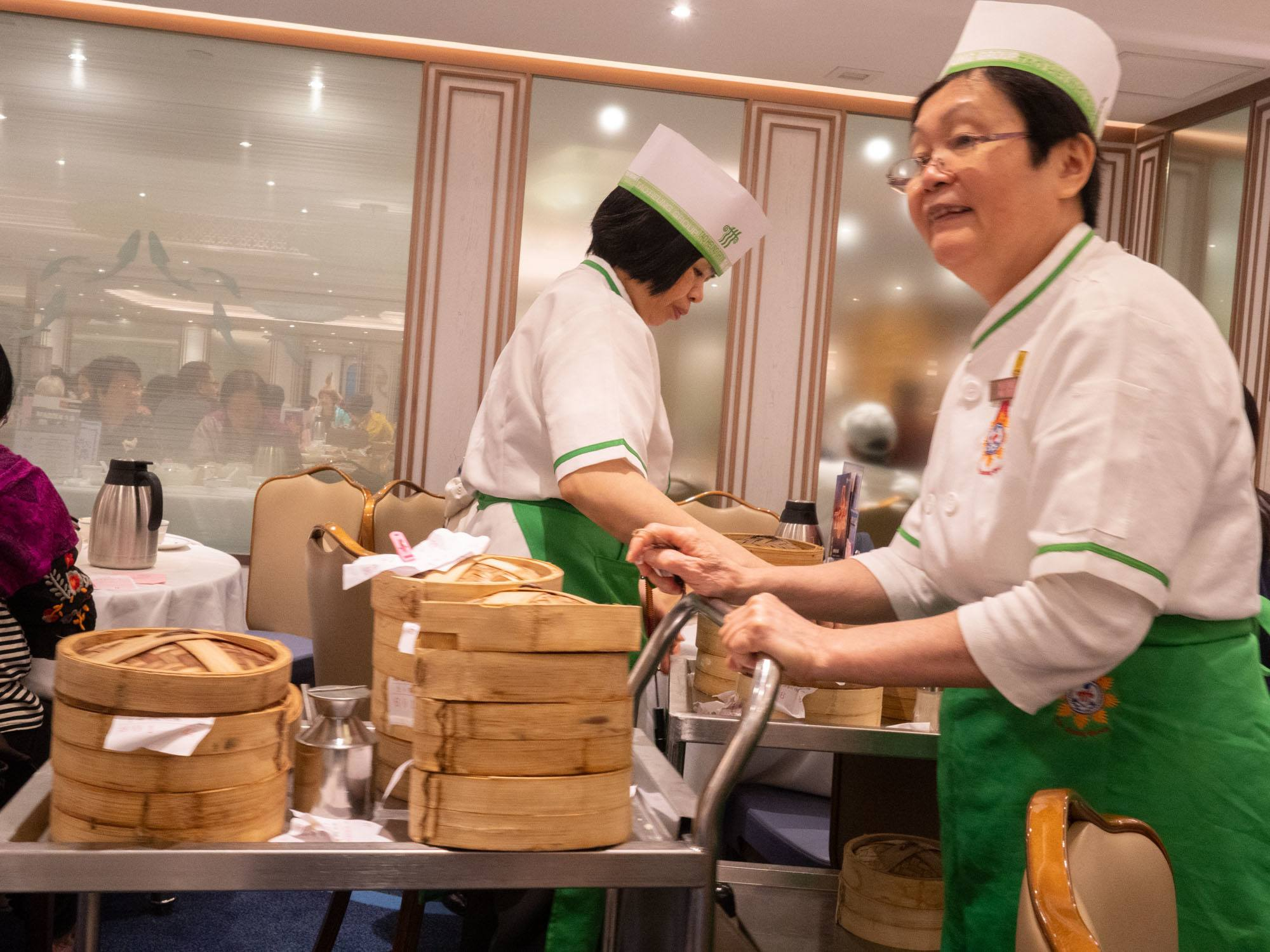 pushcart dim sum at dao heung