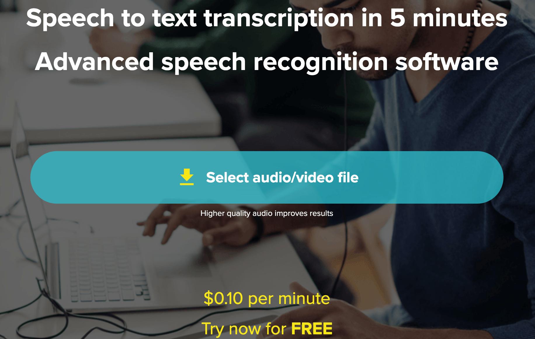 temi transcription service